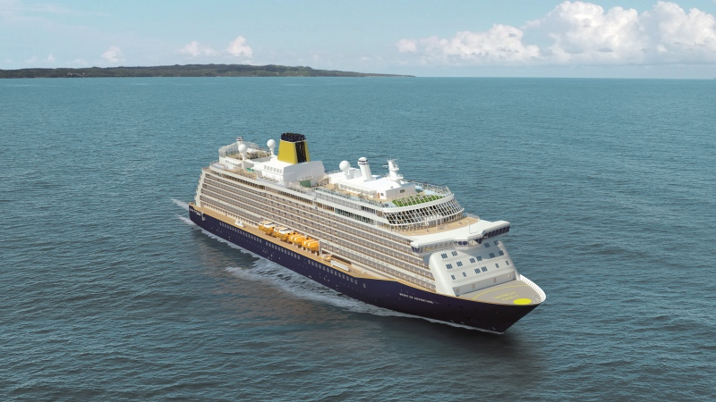 Saga Cruises became the first to introduce the requirement, not everyone agreed -- the British operator was inundated with so many responses, good and bad, it temporarily made its Twitter account private. (Courtesy Saga)