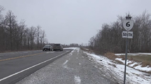 Highway 6 near Caledonia