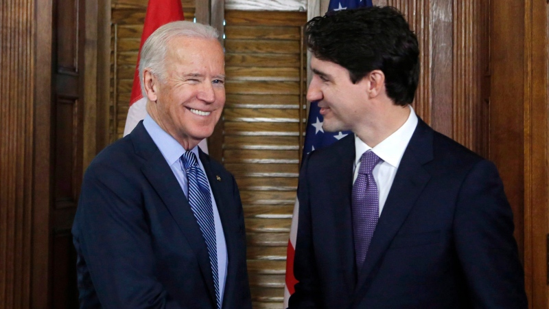What will Biden and Trudeau discuss?