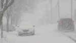 Snowstorm makes things messy for Maritimers