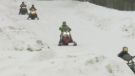 Don't protest closures, North Bay sledders told