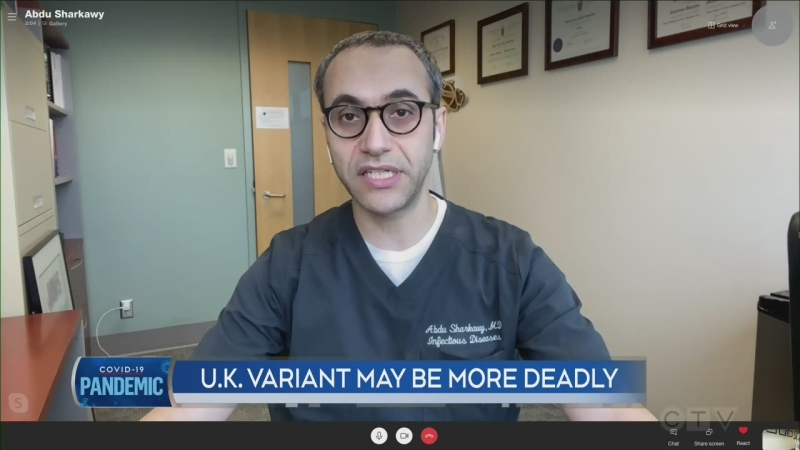 U.K. variant may be more deadly