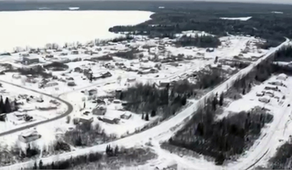 Constance Lake First Nation is located 32 kilometres west of the Town of Hearst. It's home to approximately 900 people. (Photo courtesy of NWE JINAN on YouTube)