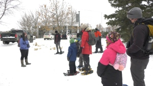 "This winter, Nature Regina is offering activities for people to enjoy through their ""Get Outside! Outdoor Explorer"" program. (Hafsa Arif / CTV News)"