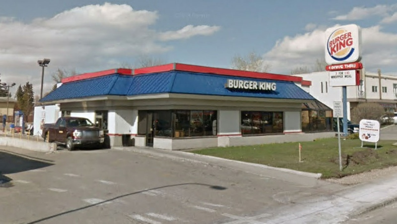 Six cases of COVID-19 are connected to an outbreak at this Burger King location in southeast Calgary. (File/Google Maps)