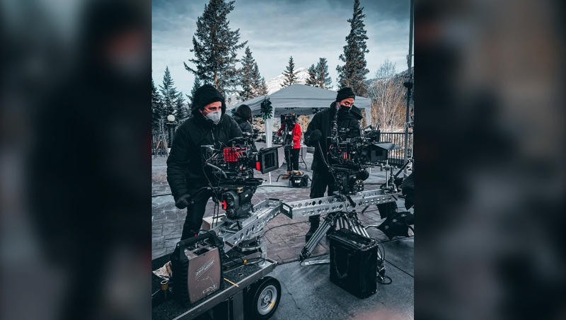 Film production is booming in southern Alberta, with five series in production and a number of features and streaming series scouting the area.