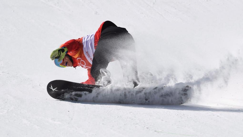 Eliot Grondin in the 2018 Olympics