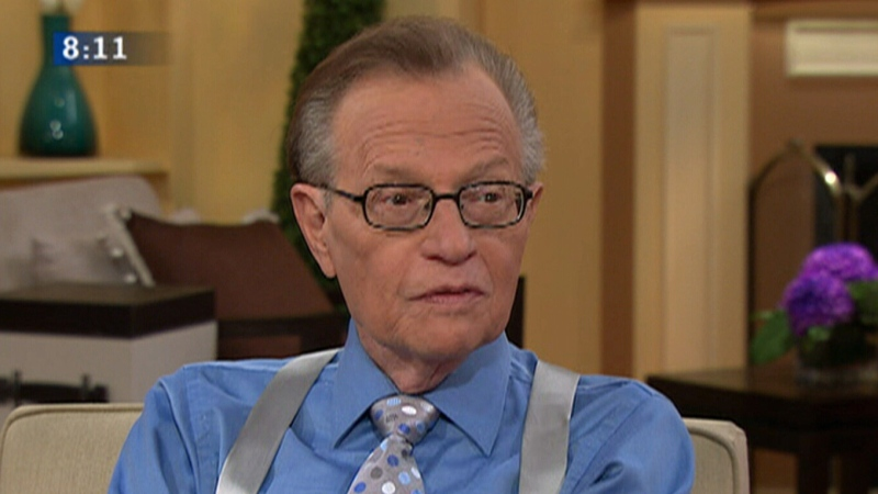 Canada AM: Larry King, 'My Remarkable Journey'