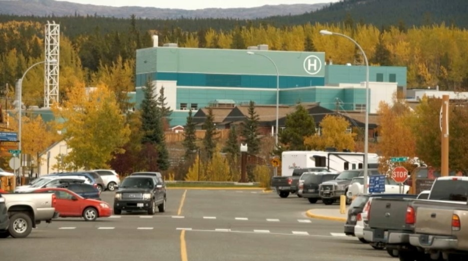 Whitehorse General Hospital is seen in an undated image. A couple who gave a Vancouver, B.C. address is accused of travelling to the Yukon to receive the COVID-19 vaccine and failing to self-isolate upon their arrival.