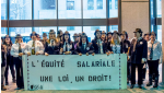 The FSSS-CSN along with the SCFP-FTQ and SQEES-FTQ unions are denouncing the government of Quebec for not living up to promises regarding pay equity dating back to 2013. SOURCE: FSSS-CSN
