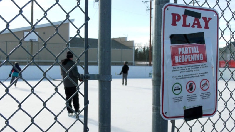 As the hockey season is over for young players in Indus, Alta., but other leagues could also call it quits in the weeks ahead if restrictions don't change.
