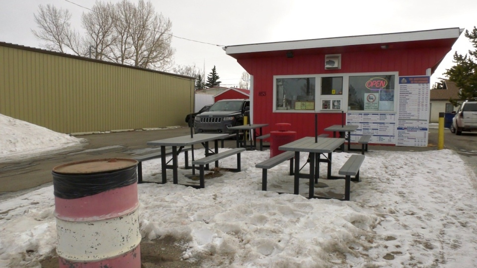 Burger Baron is one of the businesses in Carstairs that is expressing gratitude for the Town's decision to cancel collection of the $100 business license fee for 2021.