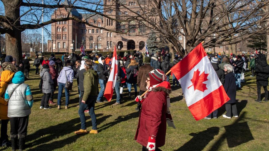 Queen's Park protest