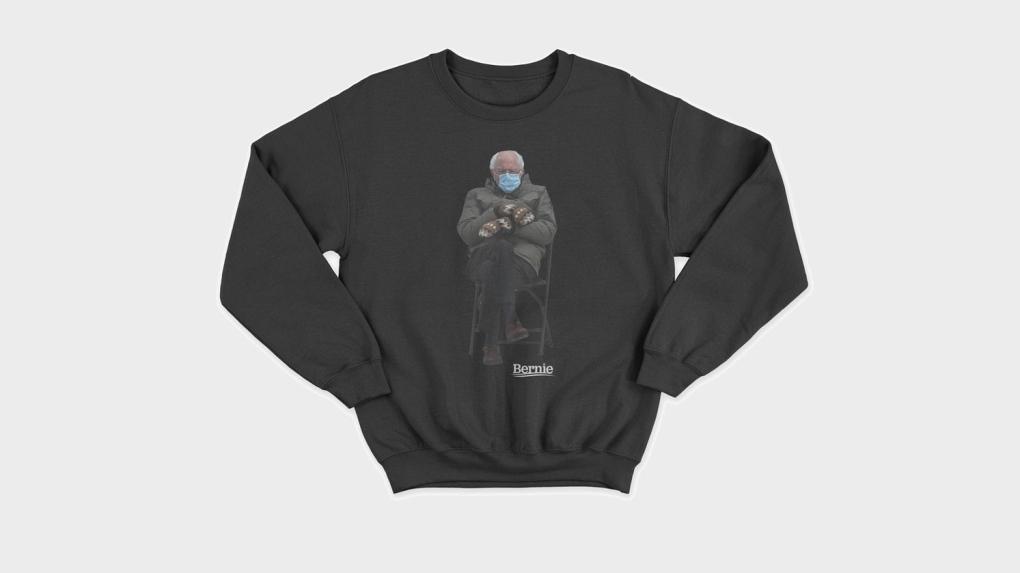 Bernie Sanders sweater