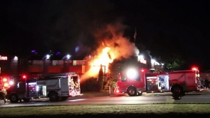3 injured in Burnaby motel fire