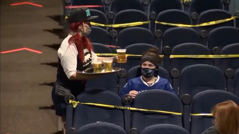 On Saturday, the Rio Theatre opened its doors for the first time as a sports bar. (CTV)