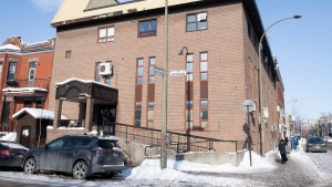 A Synagogue is shown in an Orthodox Jewish neighbourhood in Montreal, Saturday, January 23, 2021, as the COVID-19 pandemic continues in Canada and around the world. Police were called to the synagogue with reports of an illegal gathering. THE CANADIAN PRESS/Graham Hughes