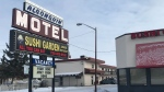 Police said a man was stabbed when a fight broke out between two groups of people inside a unit at the Algonquin Motel on Jan. 24, 2020.
