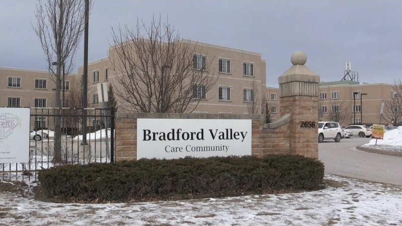Bradford Came Community in Bradford West Gwillimbury, Ont. on Sunday, January 24, 2021 (Don Wright/CTV News)
