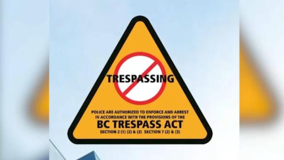 VPD Trespassing program