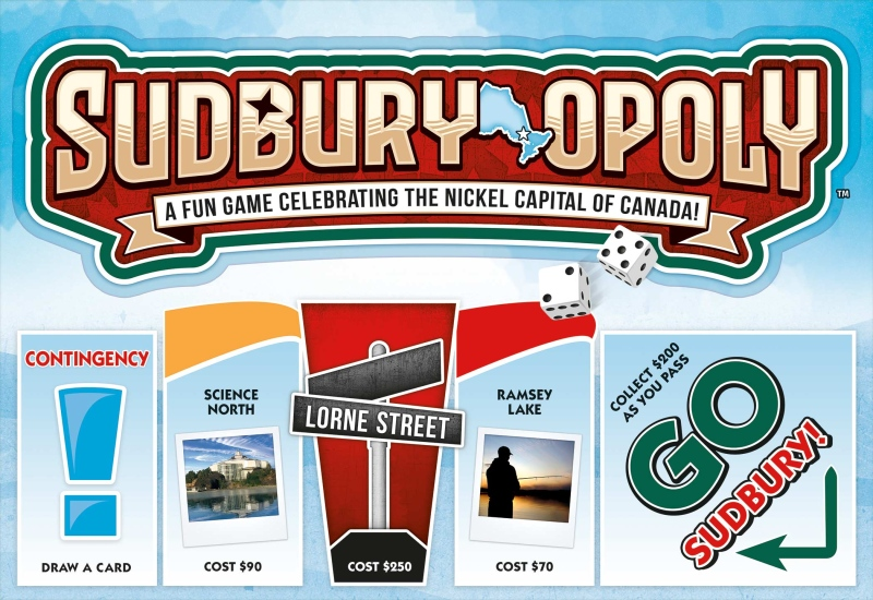 The makers of Sudbury-opoly speak about the process of designing the game (Courtesy of Outset Media)