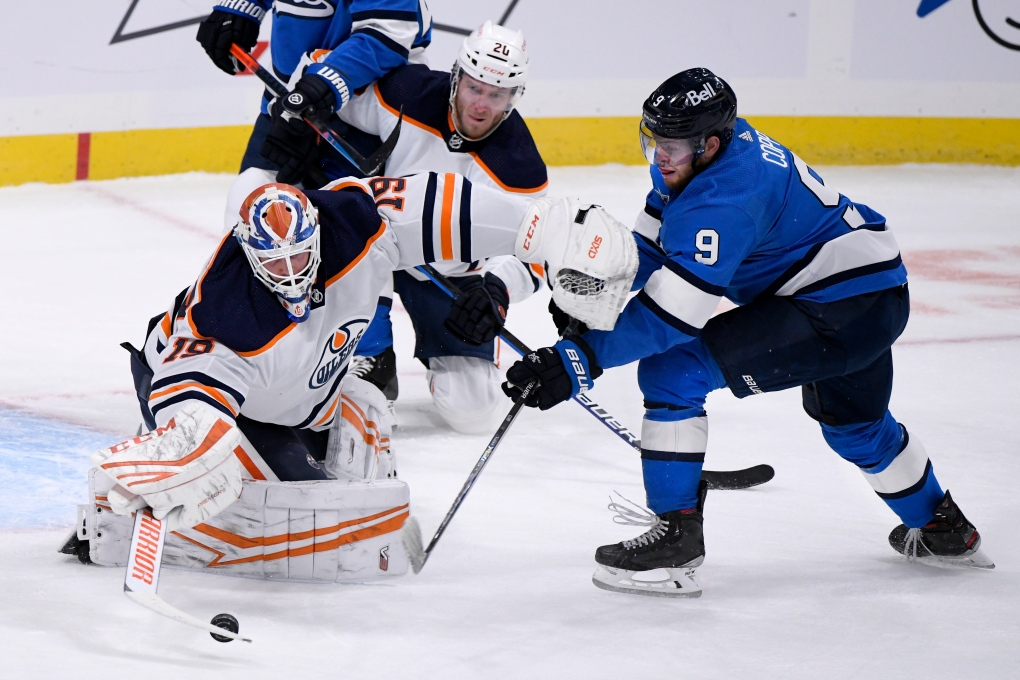 Edmonton Oilers vs Winnipeg Jets