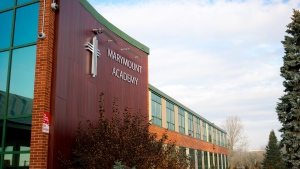 Marymount Academy, Sudbury. (Sudbury Catholic District School Board)