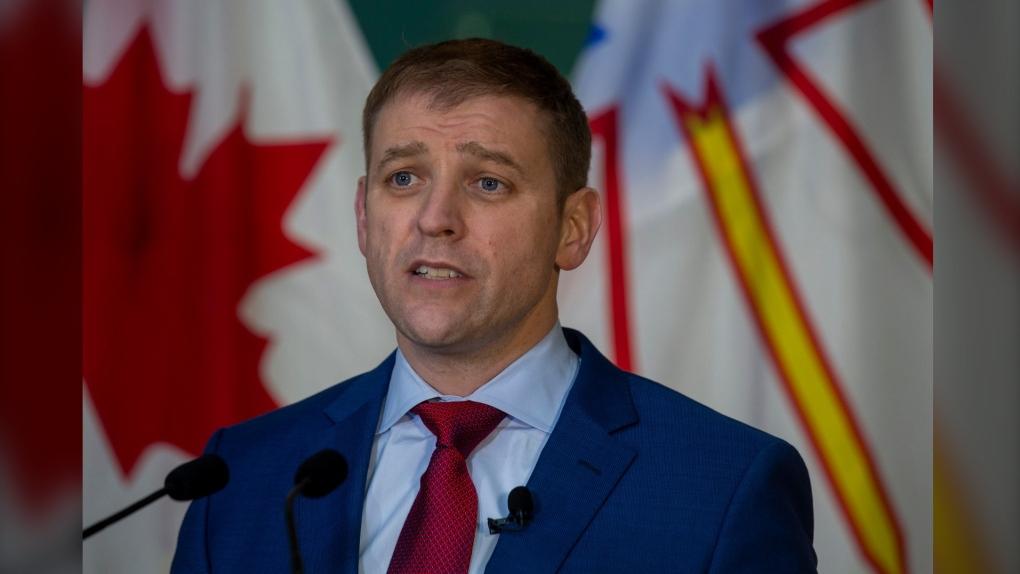 Liberal Leader Andrew Furey