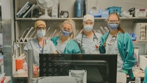 Edmonton nurse shares how uncertainty in the early