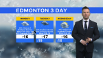 Morning forecast, Jan. 25
