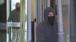 Ottawa police are asking for help identifying a man accused of robbing a business on Beaverwood Road in Manotick on Jan. 7, 2021. (Photo distributed by the Ottawa Police Service)