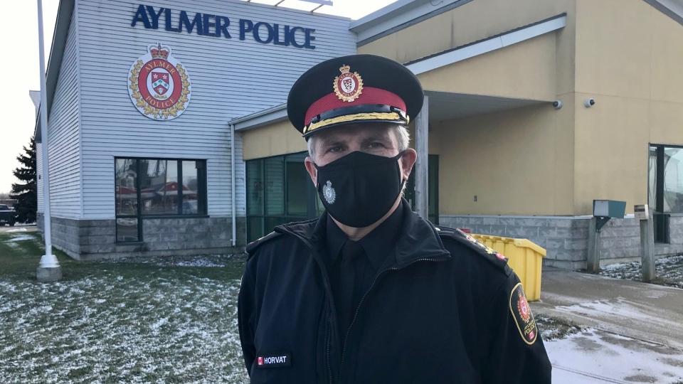 Aylmer Police Chief Zvonko Horvat