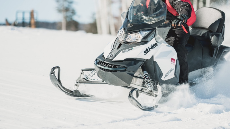 File photo of snowmobile. (Photo by Spencer Davis on Unsplash)
