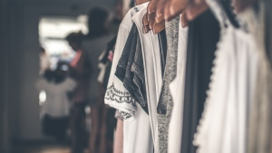 Refreshing your wardrobe doesn't have to mean breaking the bank. CTV News' Chief Financial Commentator Pattie Lovett-Reid explains the thinking behind her 'cheap and cheerful' challenge. (Artem Beliaikin / Pexels)