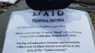 Netflix television series, Maid, began filming in Greater Victoria in fall 2020.