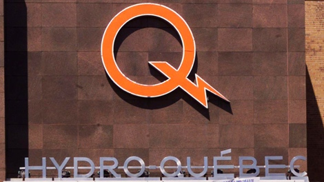 The Hydro Quebec office is seen in Montreal. (Paul Chiasson / THE CANADIAN PRESS)