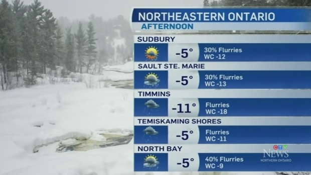 Mixed weather conditions, seasonal temperatures
