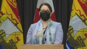 """We hope to recommend to cabinet that Zones 5, 6 and 7, return to a yellow alert level in the coming days,"" Dr. Jennifer Russell said Monday. ""It would be helpful if people who had symptoms got tested."""