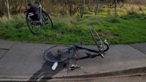 The crash occurred around 3 p.m. near Cattle Point: (CFAX 1070)