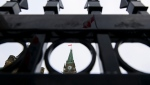 The Peace Tower is pictured on Parliament Hill in Ottawa on Monday, Jan. 25, 2021. THE CANADIAN PRESS/Sean Kilpatrick