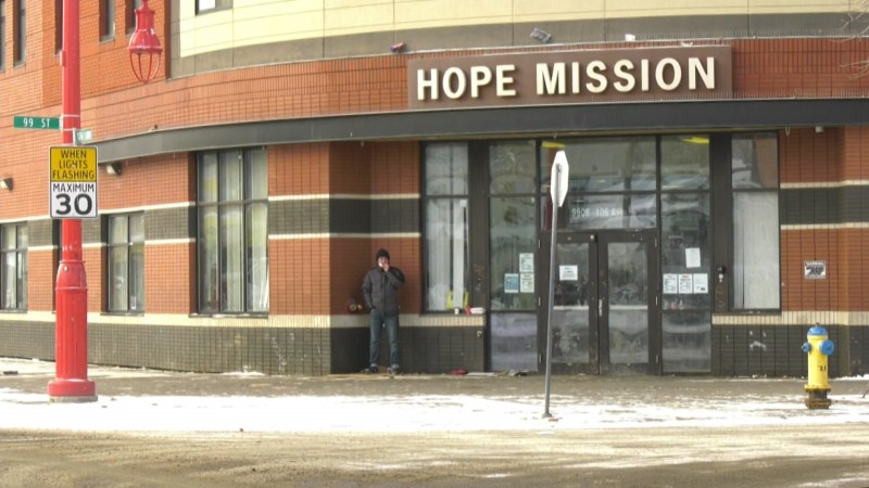 Hope Mission provides basic and emergency care to more than 800 people each day. The not-for-profit is asking for donations of warm winter items to help them serve Edmonton's homeless as the cold weather continues.