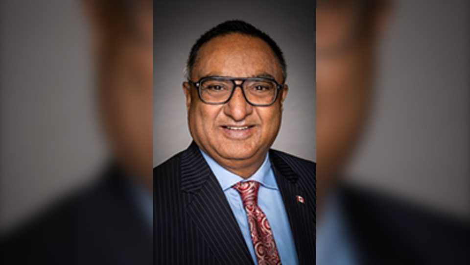 MP for Brampton Centre Ramesh Sangha is now sitting as an Independent after being removed from the Liberal caucus. (Photo courtesy Parliament of Canada)