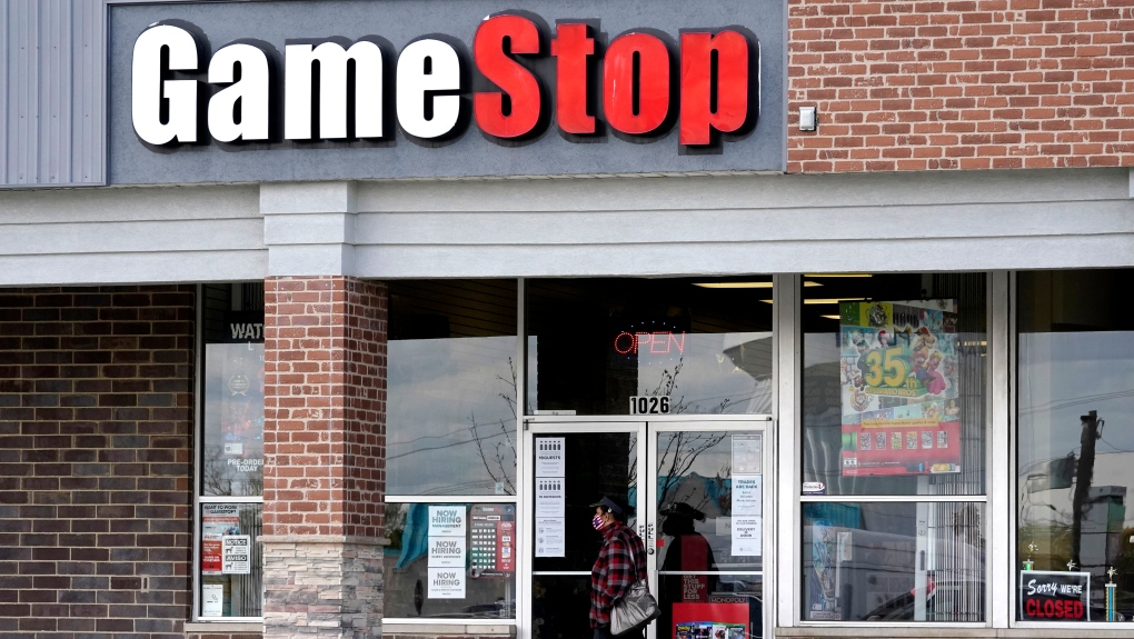Smaller investors face down hedge funds, as GameStop soars | CTV News