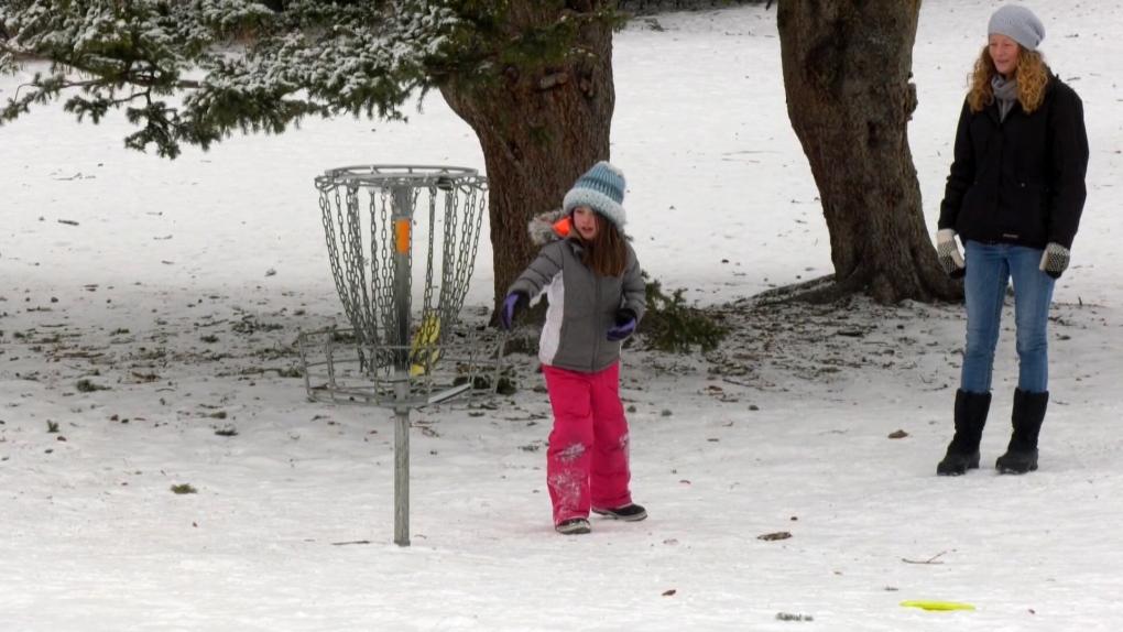 Calgary disc golf