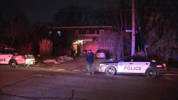 Emergency crews respond to a carbon monoxide incident at a home in the Bridal Path area Monday, January 25, 2021.