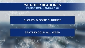 Jan. 26 weather headlines