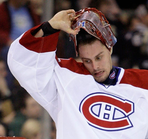 Jaroslav Halak of the Canadiens.