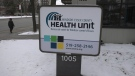 The Windsor-Essex County Health Unit in Windsor, Ont.,on Monday, Jan. 25, 2021. (Chris Campbell / CTV Windsor)