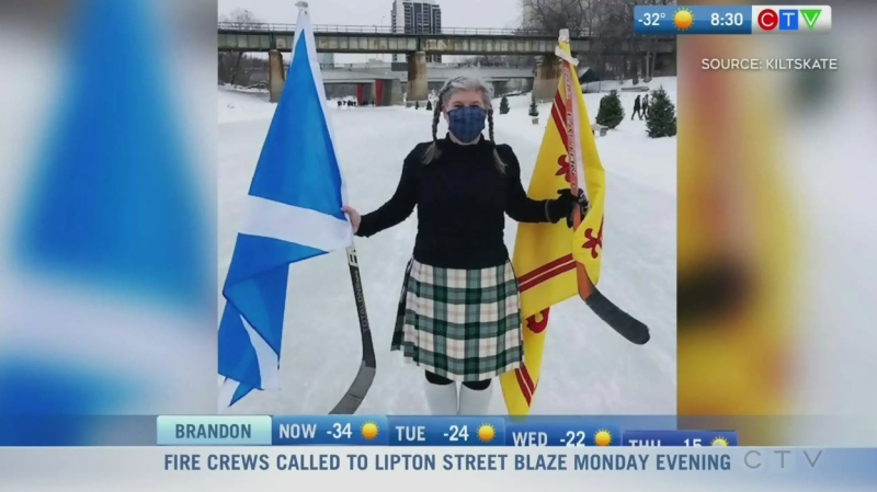 The push to make Winnipeg the Kilt Skate capital