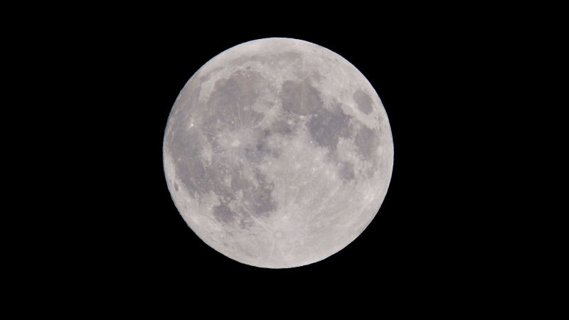A full moon is seen in this file photo. (Peter de Vink/Pexels)